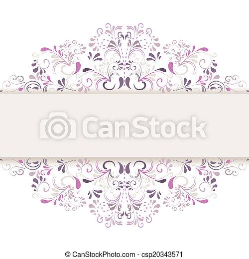 Hintergrund aus Ornamenten  - csp20343571
