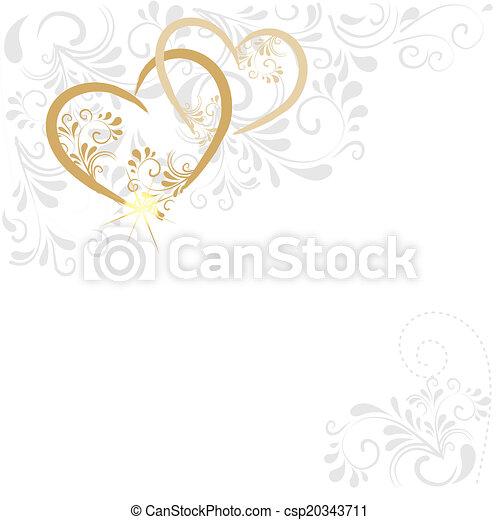 Hintergrund aus Ornamenten  - csp20343711