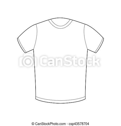 Hintergrund, isolated., t-shirt, schablone, weißes, sport, kleidung.