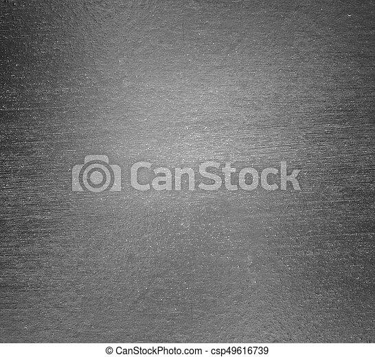 Silberer Hintergrund aus Metall - csp49616739