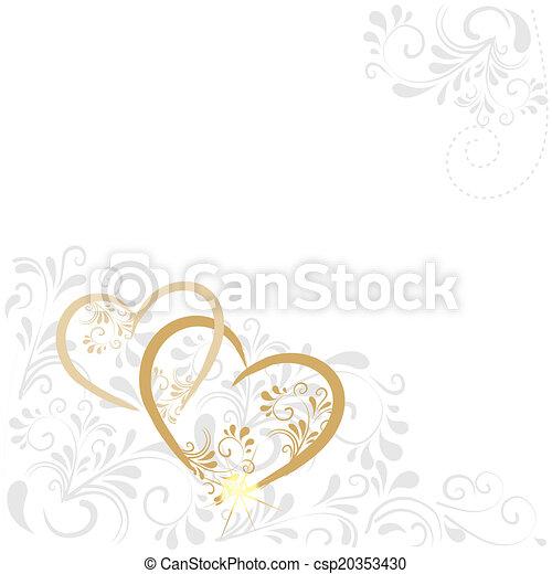 Hintergrund mit Ornamenten  - csp20353430