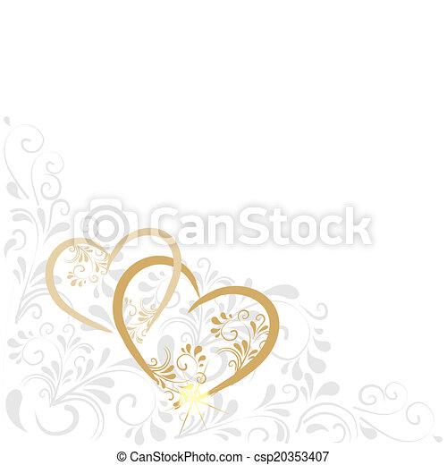 Hintergrund mit Ornamenten - csp20353407