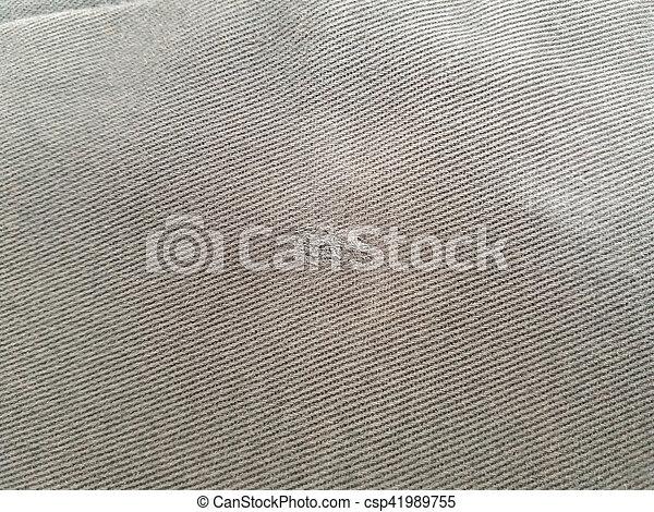 hintergrund, stoff, blaues, beschaffenheit - csp41989755