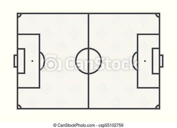 Hintergrund Weisses Fussball Linien Feld Wohnung