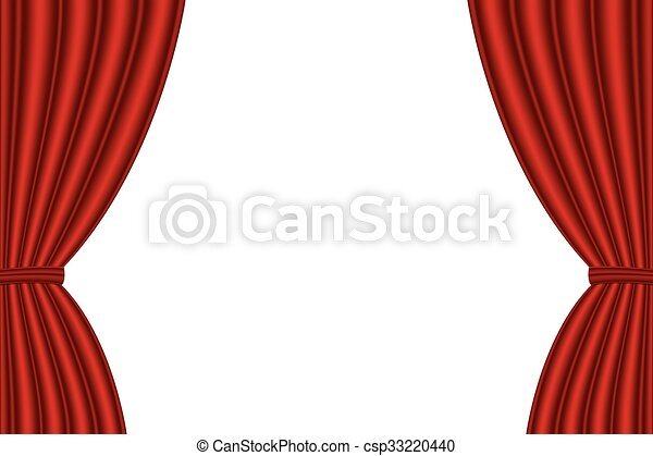 Kino Vorhang Minimalist : Hintergrund weißes geöffnet roter vorhang abbildung eps