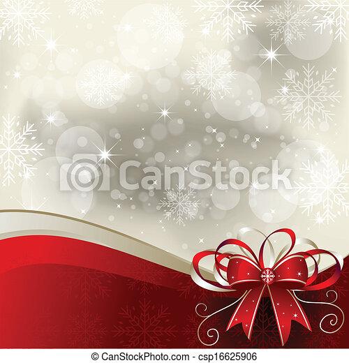 Weihnachtshintergrund - Illustration - csp16625906