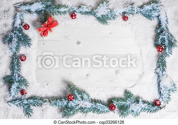 hintergrund, weihnachtskarte - csp33266128