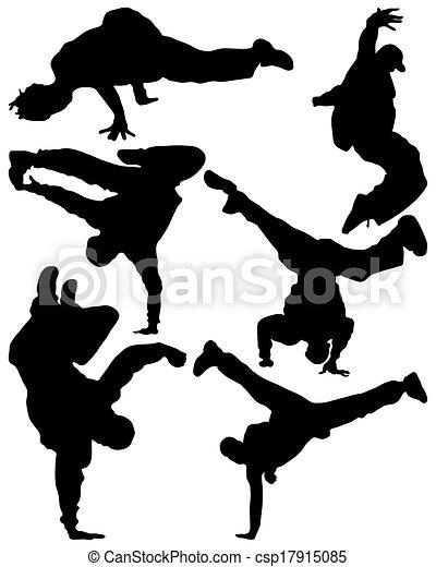 hip hop dancer - csp17915085