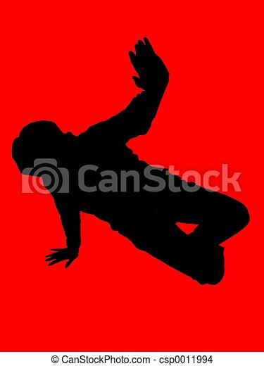 hip hop dancer - csp0011994