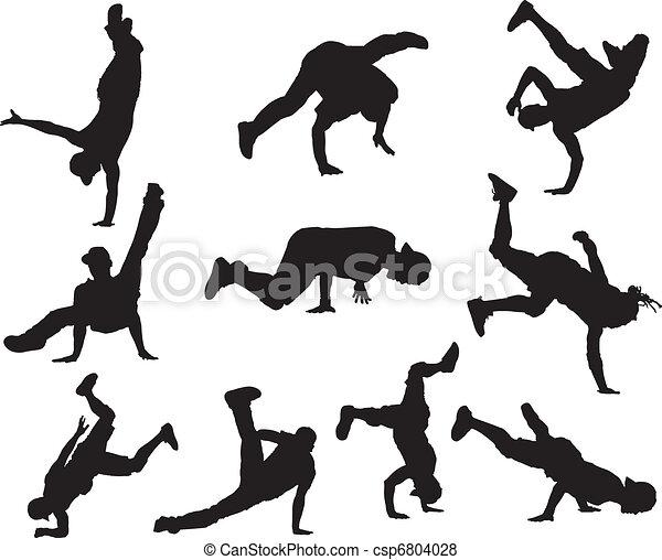 Hip Hop dancers - csp6804028