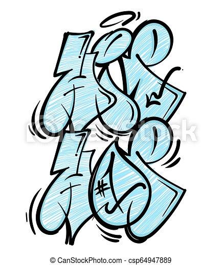 Music Graffiti Art Drawings