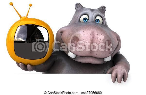 Hippo - csp37056080