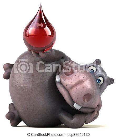 Hippo - csp37649180