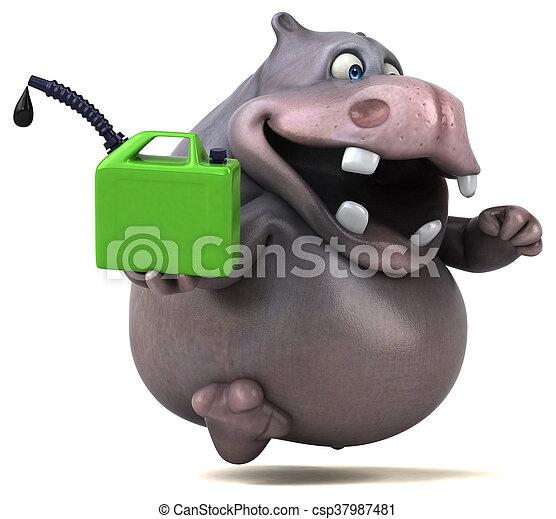 Hippo - csp37987481