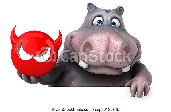 Hippo - csp38125746