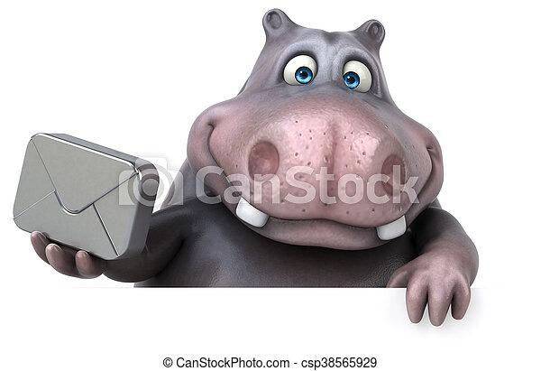 Hippo - csp38565929