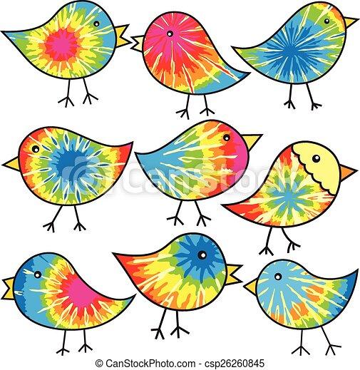 Hippy Chicks - csp26260845