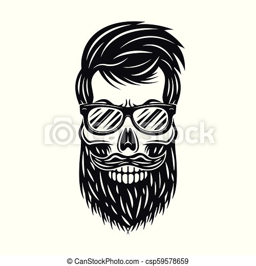 Skull With Beard Vector Clip Art Royalty Free 564 Clipart EPS Illustrations And Images Available To Search From Thousands Of Stock