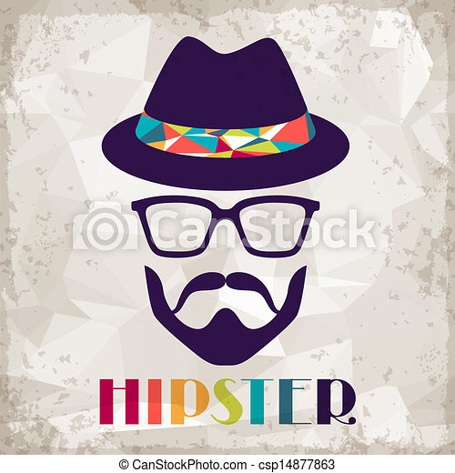 hipster, style., fond, retro - csp14877863