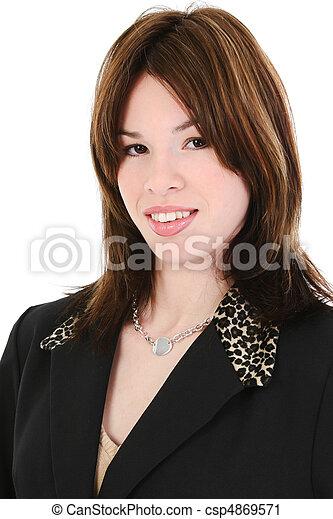 Hispanic Business Woman - csp4869571