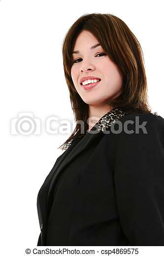 Hispanic Business Woman - csp4869575