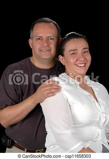Hispanic Couple - csp11658303