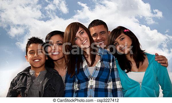 Hispanic Family - csp3227412