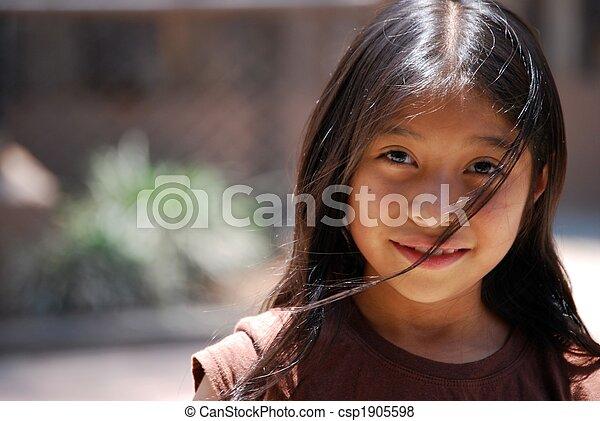 Hispanic Girl - csp1905598