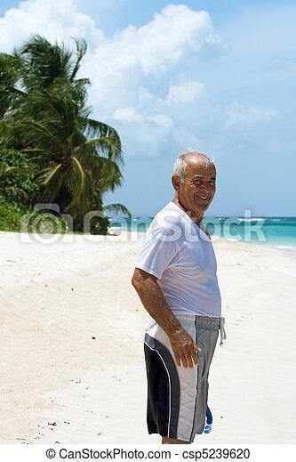 Hispanic Senior Man - csp5239620