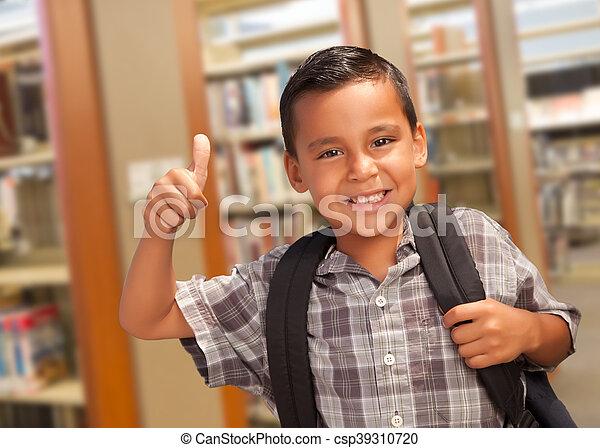 Latino boy thumbs free pic 201