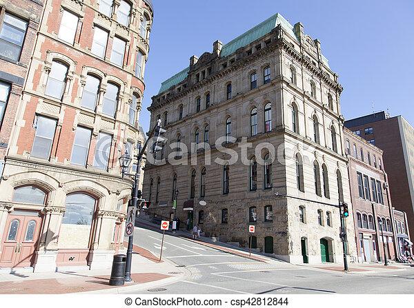 histórico, arquitetura, canadense - csp42812844