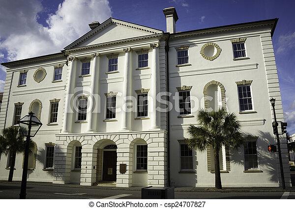 histórico, corte judicial - csp24707827