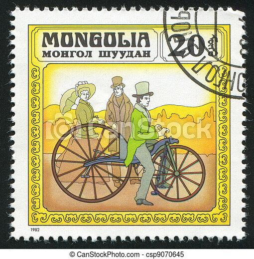 Historic Bicycles - csp9070645