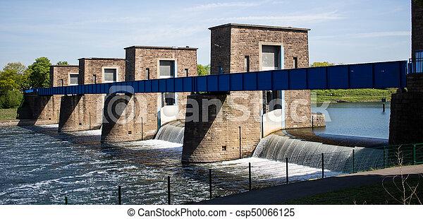 historic bridge over river - csp50066125