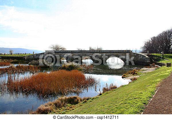 Historic Bridge. - csp1412711