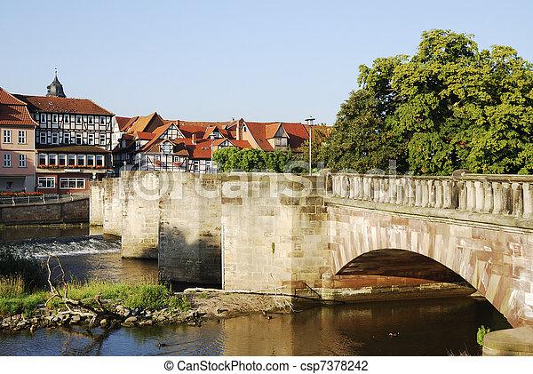 Historic bridge - csp7378242