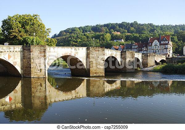 Historic bridge - csp7255009