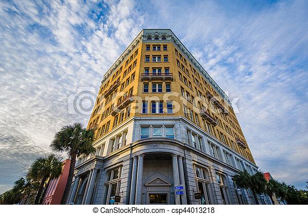 Historic building in Charleston, South Carolina. - csp44013218