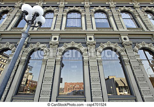 Historic Building in Downtown Salem Oregon 2 - csp4701524