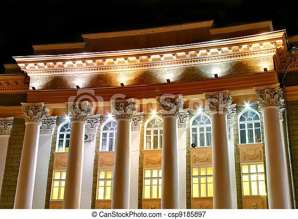 Historic building - csp9185897