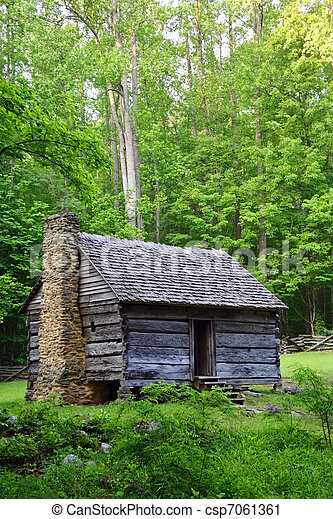 Historic Cabin - csp7061361