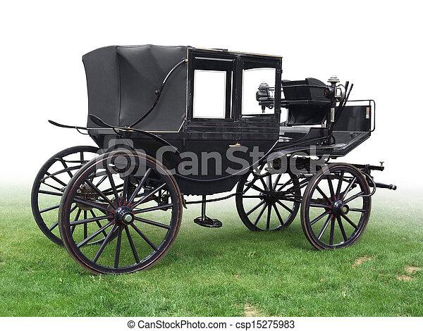 historic carriage - csp15275983