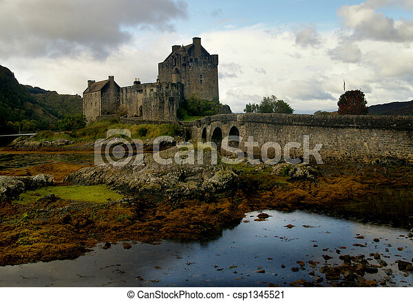 Historic Castle Scotland - csp1345521