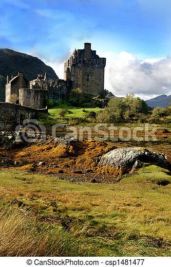 Historic Castle Scotland - csp1481477