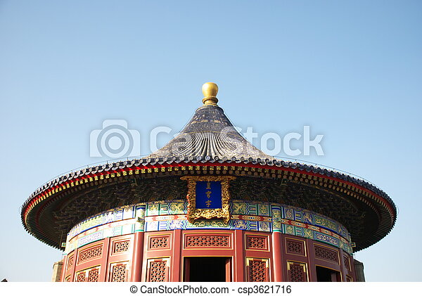 historic Chinese building - csp3621716