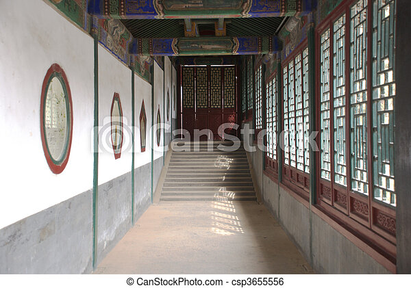 historic Chinese building - csp3655556