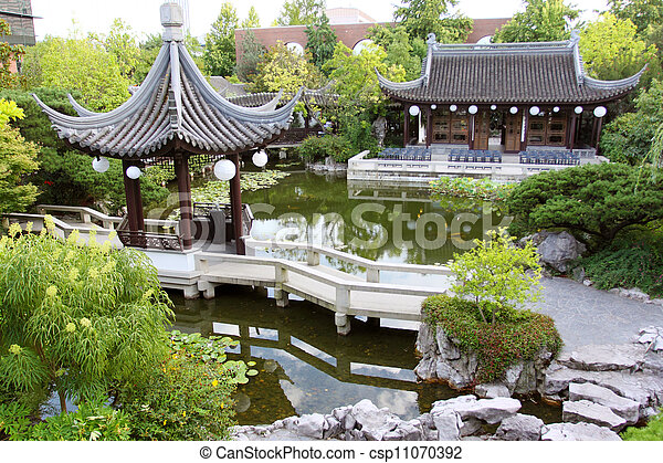 Historic Chinese building - csp11070392