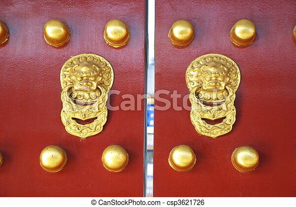 historic Chinese gate - csp3621726