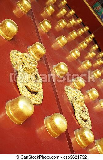historic Chinese gate - csp3621732