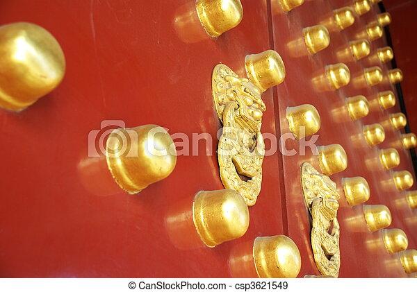 historic Chinese gate - csp3621549